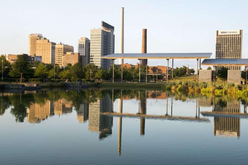 Birmingham skyline via Wall Street Journal