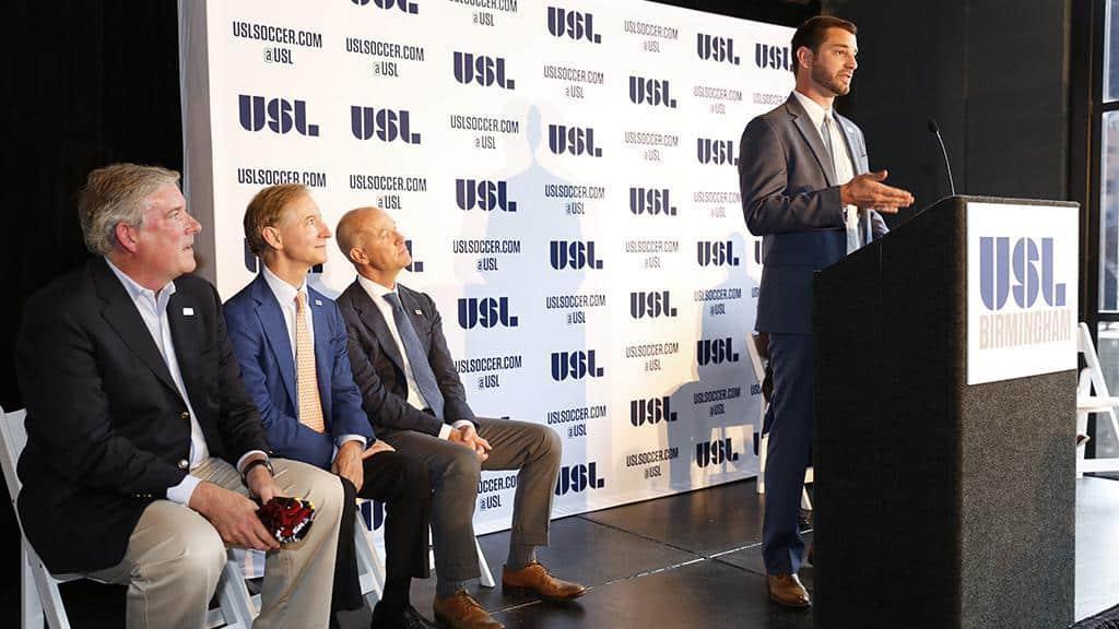 Join us, Nov. 2nd to hear Morgan Copes VP of USL Birmingham