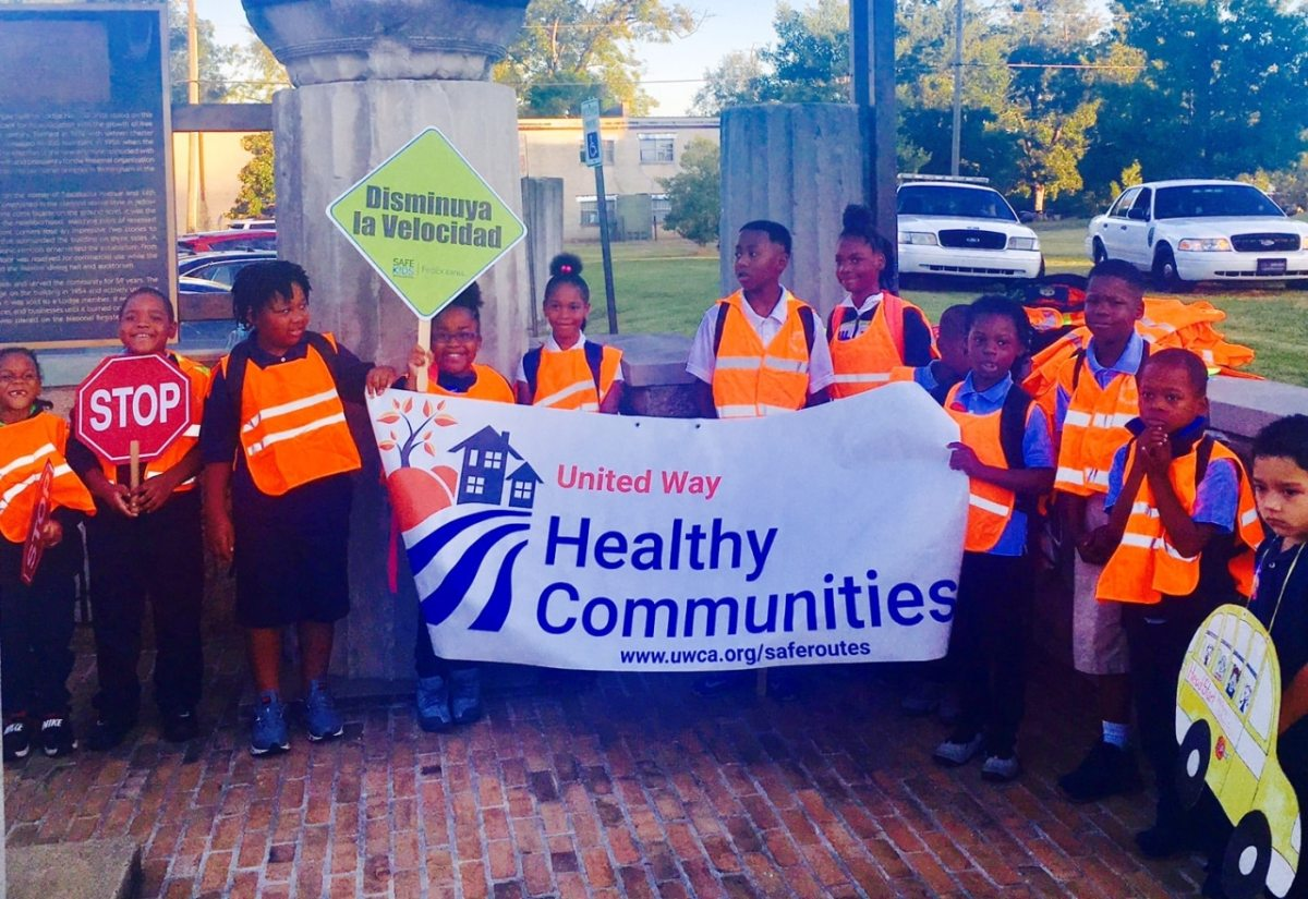 Birmingham celebrates National Walk to School Day