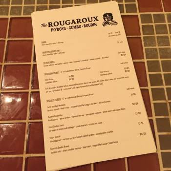 rougaroux menu