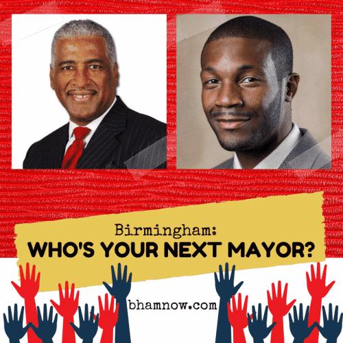 Birmingham, Alabama, mayor, Randall Woodfin, William Bell, election, mayoral, runoff, vote, voting