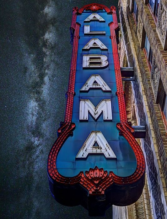 "Birmingham's Alabama Theatre wins grant to restore 18th Street ""ALABAMA"" sign"