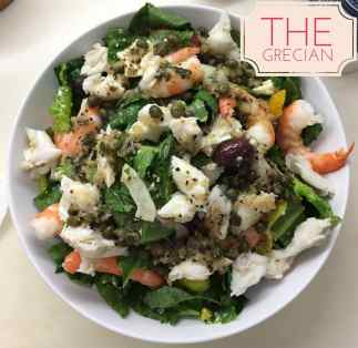 The Grecian Salad