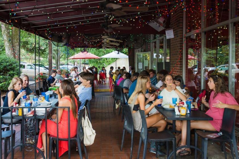 Birmingham, Rojo, restaurants