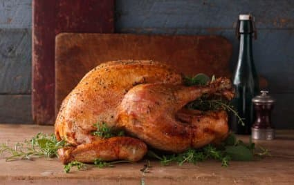 Turkey for thanksgiving from whole foods!