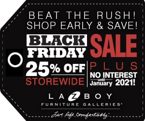 La-Z-Boy Furniture Store Black Friday Sale