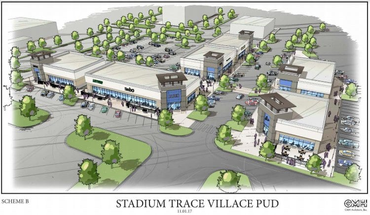 Plans approved for Hoover's Stadium Trace Village shopping center