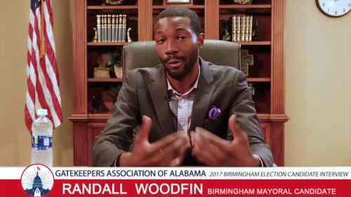 Birmingham, Alabama, mayor, Randall Woodfin