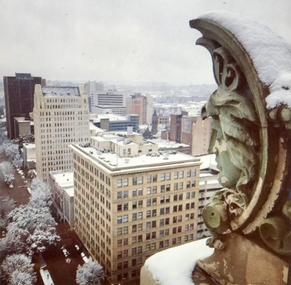 Instagram spotlight on Birmingham architecture in the snow