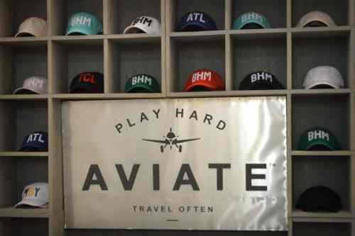 Birmingham, Alabama, Aviate, hat, BHM