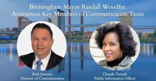 Chanda Temple, Rick Journey, mayor, Woodfin, Birmingham, Alabama