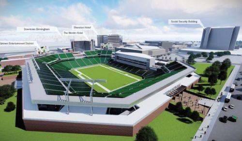 Birmingham, Alabama, stadium