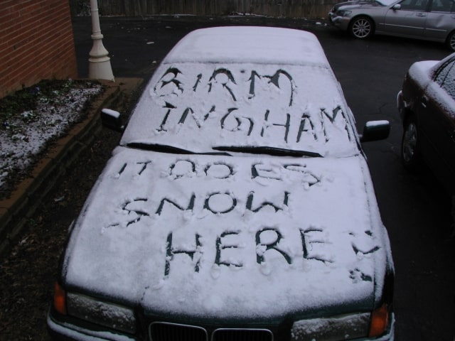 Bham Now's guide to surviving a snow dusting in Birmingham