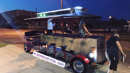 Pedal tours get a greenlight for alcohol!