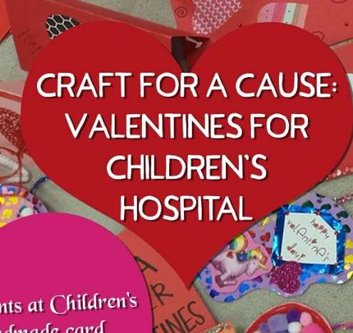Birmingham, Hoover, Hoover Public Library, library, crafts, valentines day, childrens hospital
