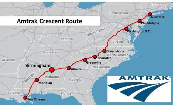 Birmingham, maps, trains, train routes