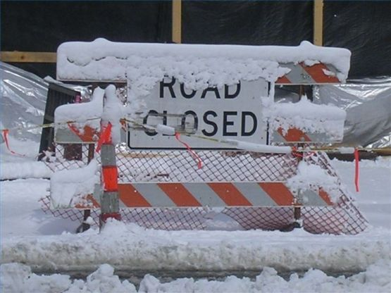 Birmingham, road closure, road closed, icy weather, winter weather, winter weather safety