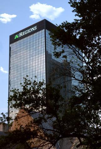 Birmingham, Alabama, Regions, Bank, headquarters