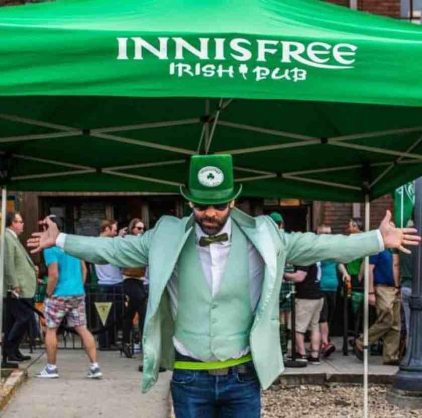 Birmingham, St. Patrick's Day, Innisfree, Innisfree Irish Pub, bars, St. Paddy, celebration
