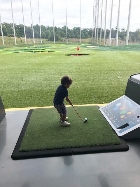 Birmingahm, Topgolf, Topgolf Birmingham, golf, kids, children, kids golf, golf camp