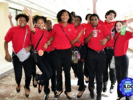 A group of Birmingham City Schools' Career Technical Education students, via Birmingham City Schools
