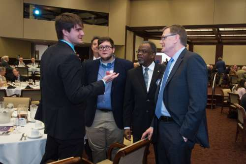 David Abney - UPS CEO - Meeting UAB Students