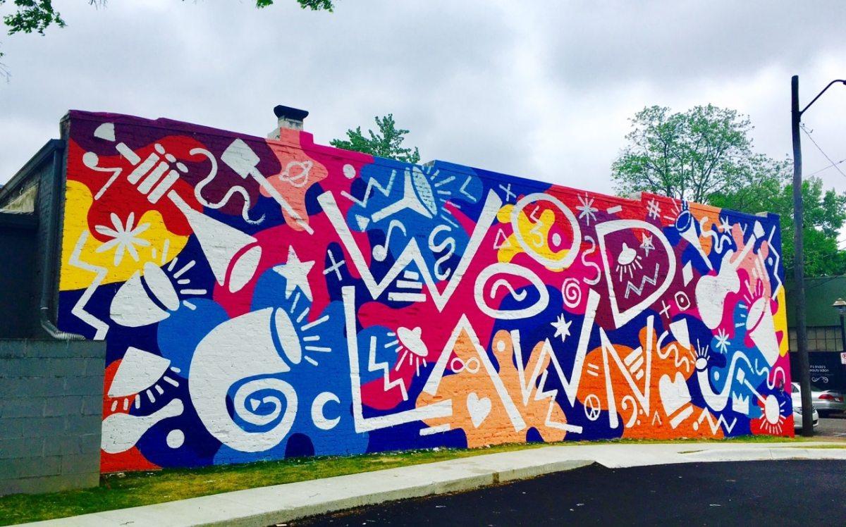 Birmingham's Woodlawn Neighborhood has a new beautiful mural