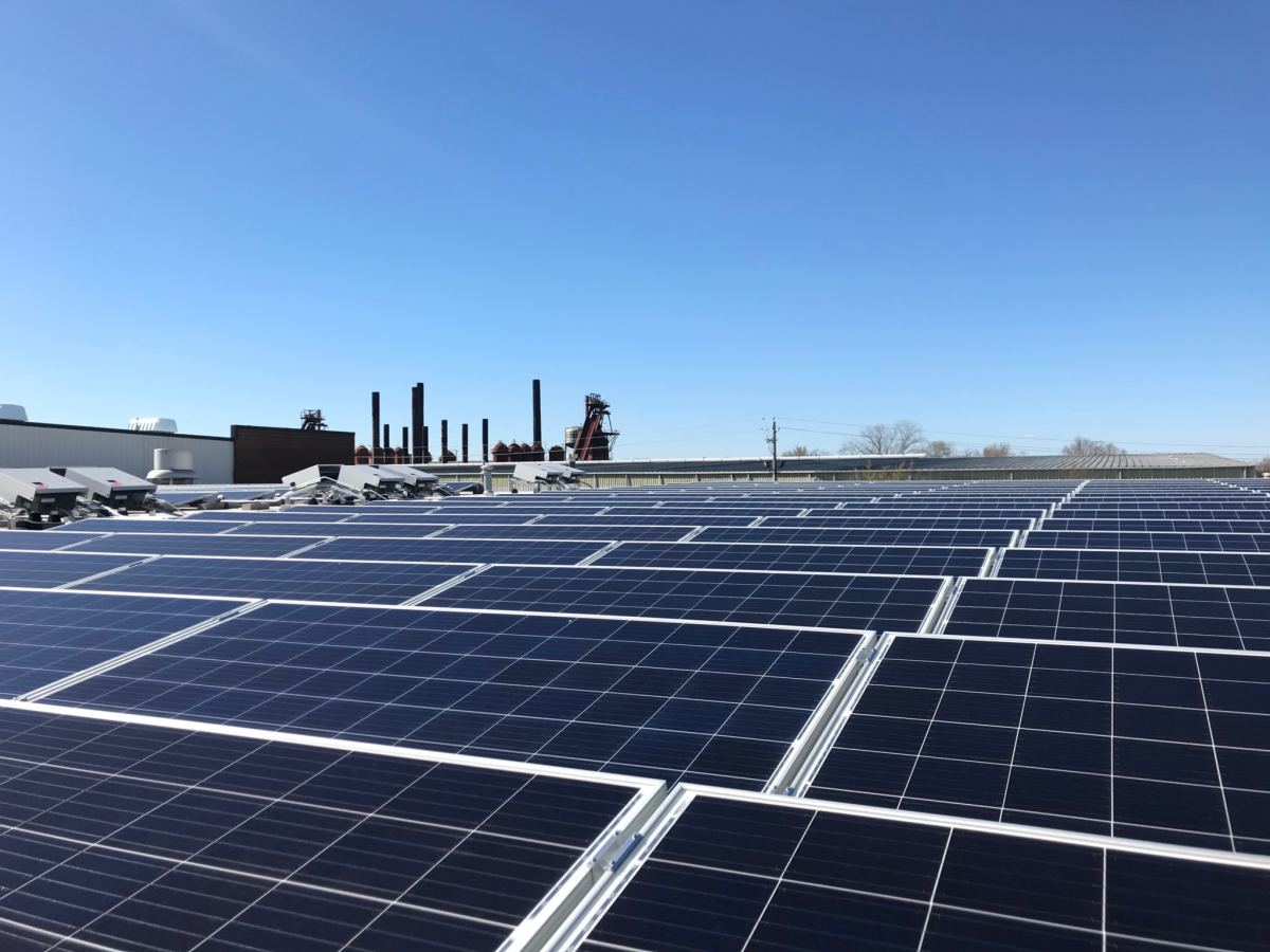 Birmingham's Marx Brothers Inc. just installed one of the largest solar energy systems in AL