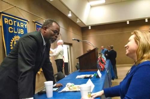 Birmingham, Alabama, Rotary Club of Birmingham 2018-19 president Dr. Eric Jack