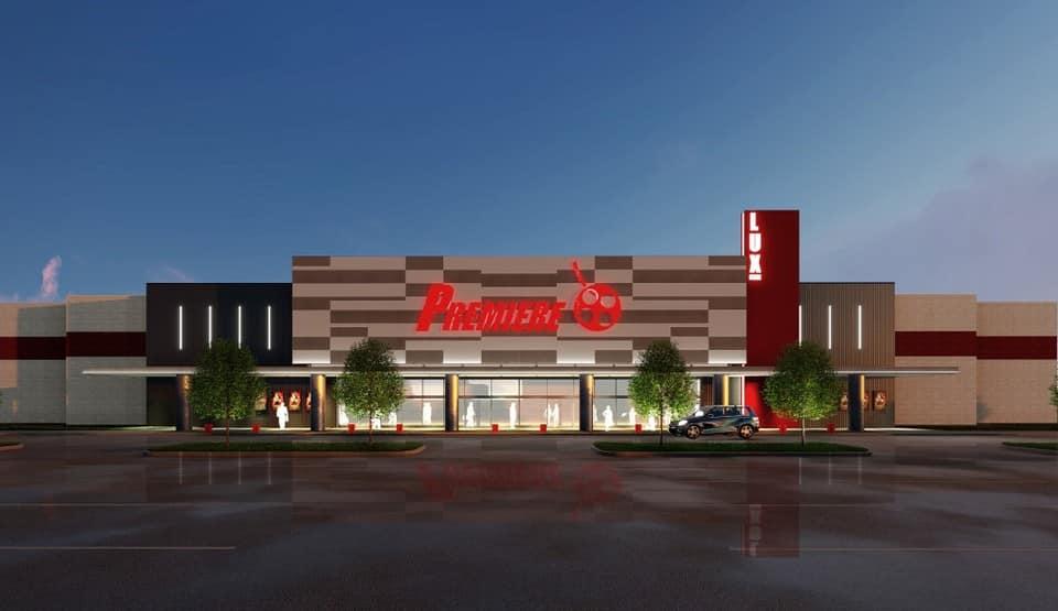Sneak peek: future luxury movie theater off Lakeshore Parkway