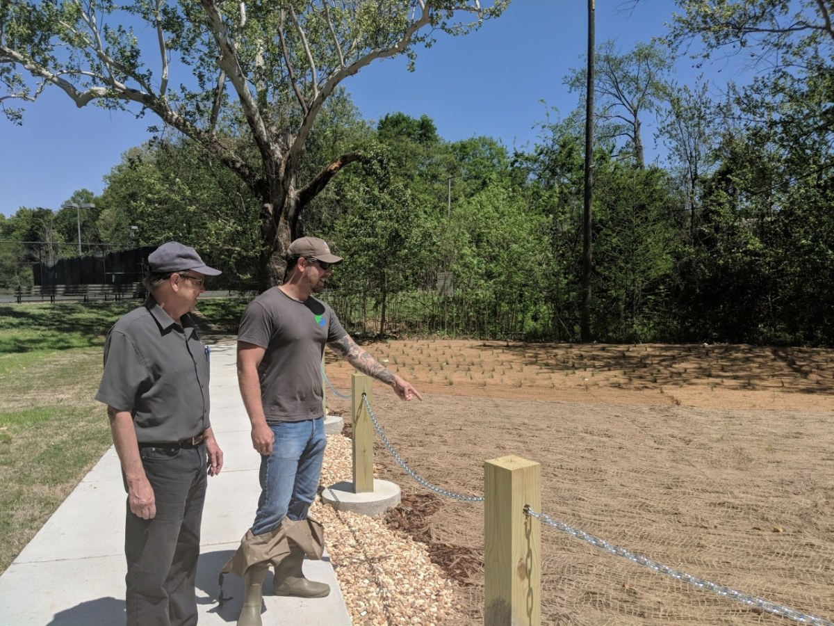 Freshwater Land Trust and partners restore watercress darter habitat in Birmingham's Roebuck Springs