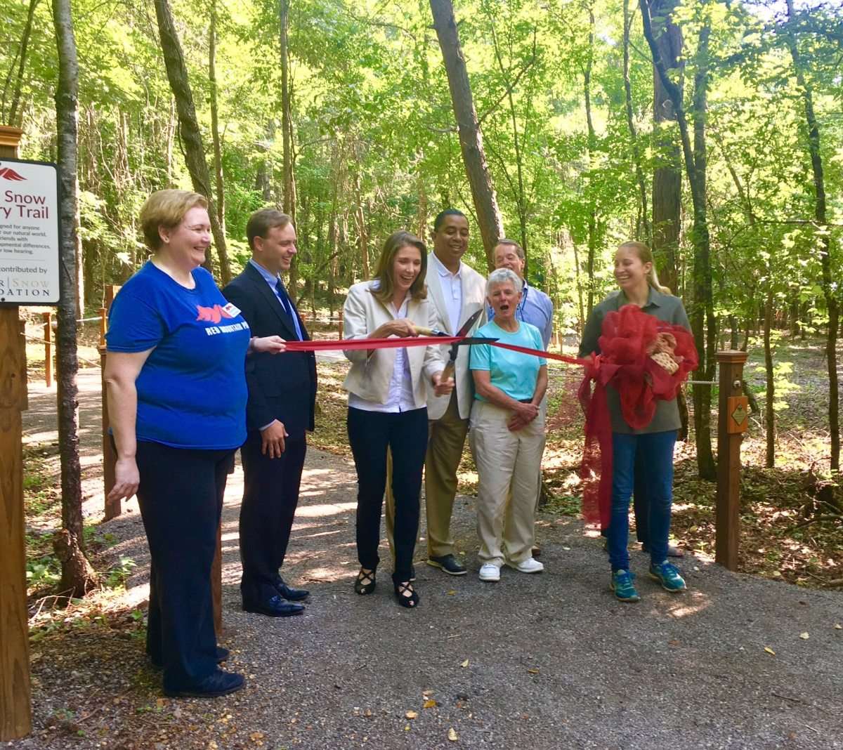 Providing access to nature, Red Mountain Park opens Butler Snow Sensory Trail