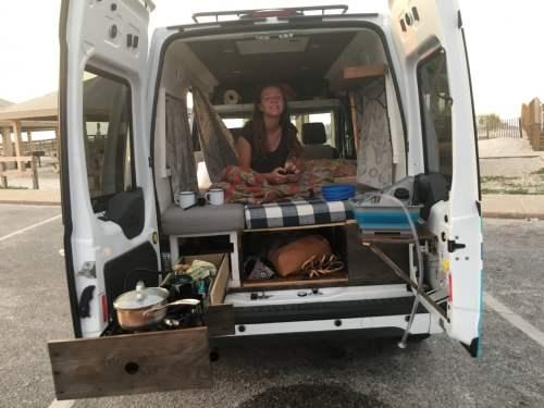 Gearbox Adventure Rentals, Birmingham, camper van