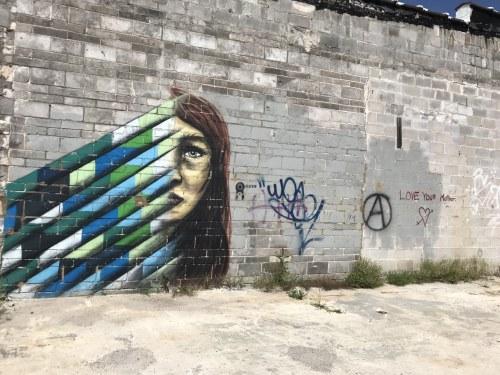 Birmingham Alabama, Marcus Fetch, Murals, Birmingham Color Wall, Color Bham