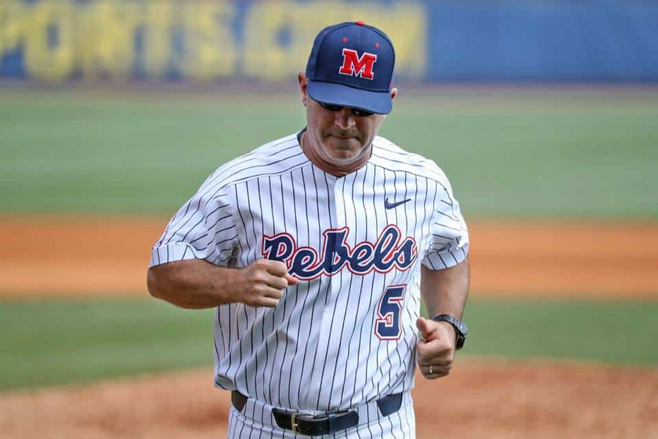 Birmingham, Ole Miss Baseball vs Georgia in the 2018 SEC Tournament