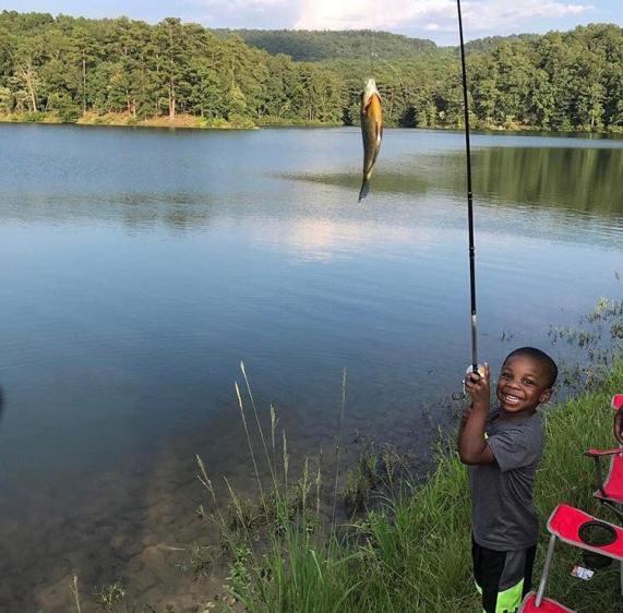 Birmingham, Oak Mountain State Park, fishing in Birmingham