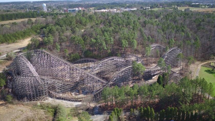 Birmingham, Rampage, Alabama Splash Adventure, Birmingham roller coasters, Alabama Organ Center, Alabama Organ Center Coasterthon