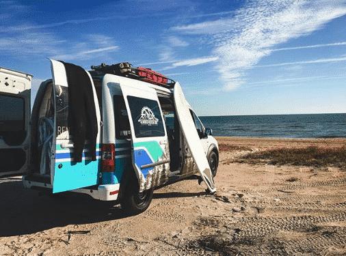 My incredible trip in Gearbox Adventure Rentals' luxury camper van