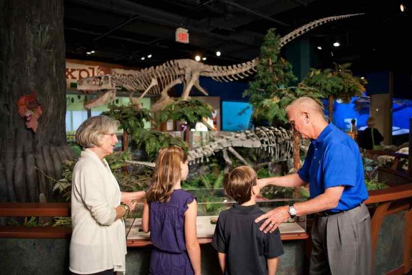 Birmingham, McWane Science Center, Alabama Dinosaurs