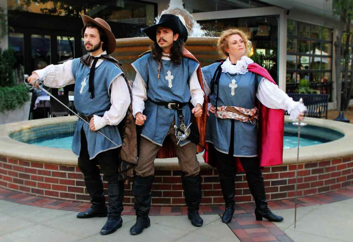 The Three Musketeers opens July 12th in the unique kickoff of Magic City Theatre Festival – use code BHAM15 to get 15% off tickets!