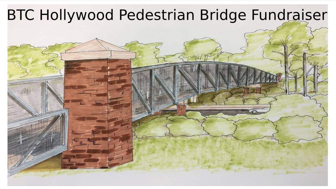 Bham Now pedestrian bridge