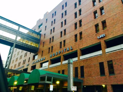 U S  News and World Report ranks UAB Hospital No  1 in