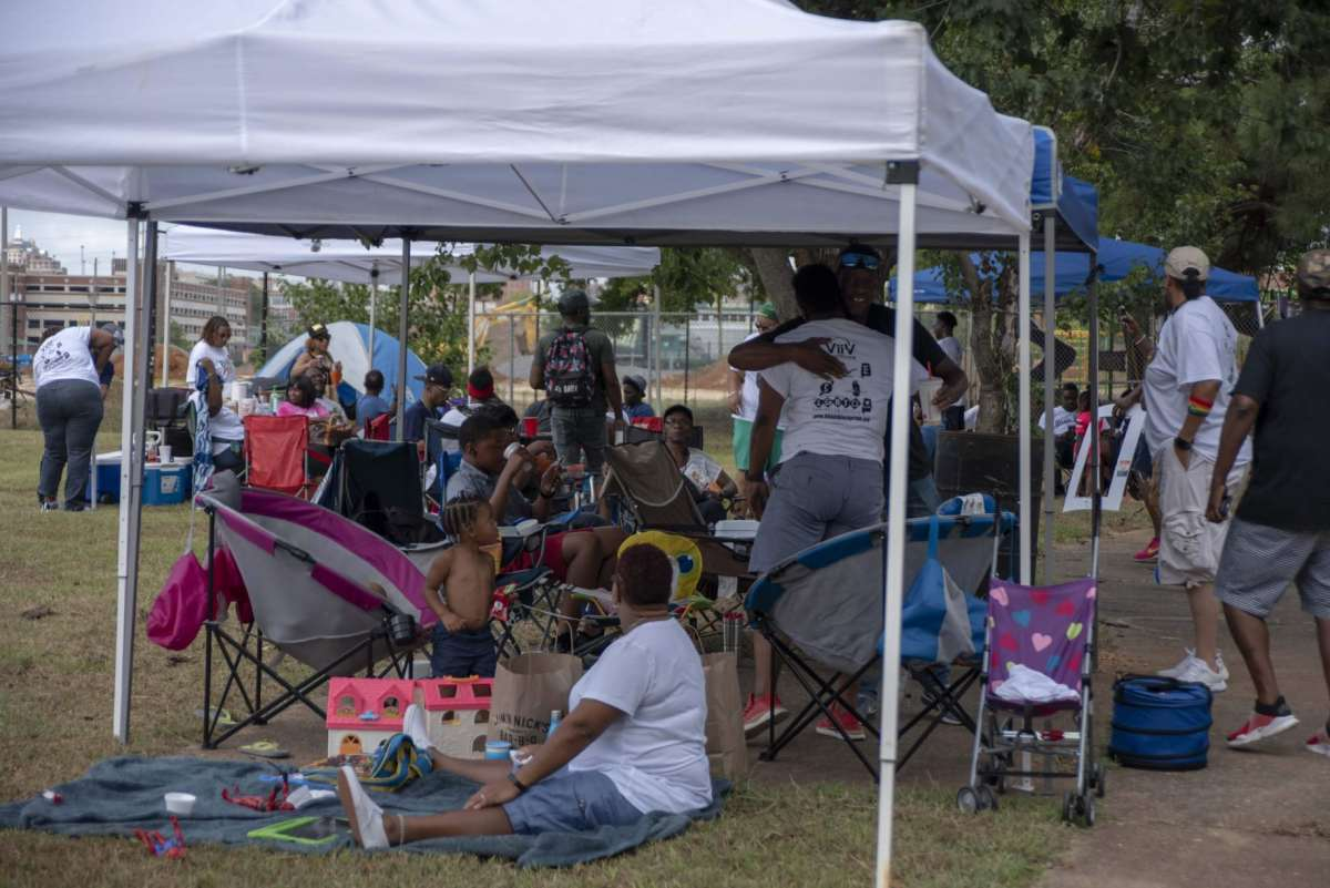 Over 500 people attended the inaugural Bham Black Pride Weekend