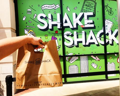 Shake Shake is open in Birmingham, AL