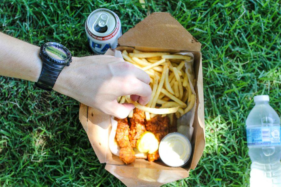 black restaurant week//eugene's hot chicken