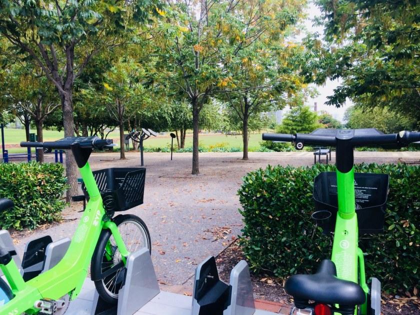Birmingham, Zyp BikeShare, Railroad Park, Birmingham, Region's Field