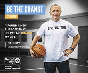 United Way of Alabama - Be the Change