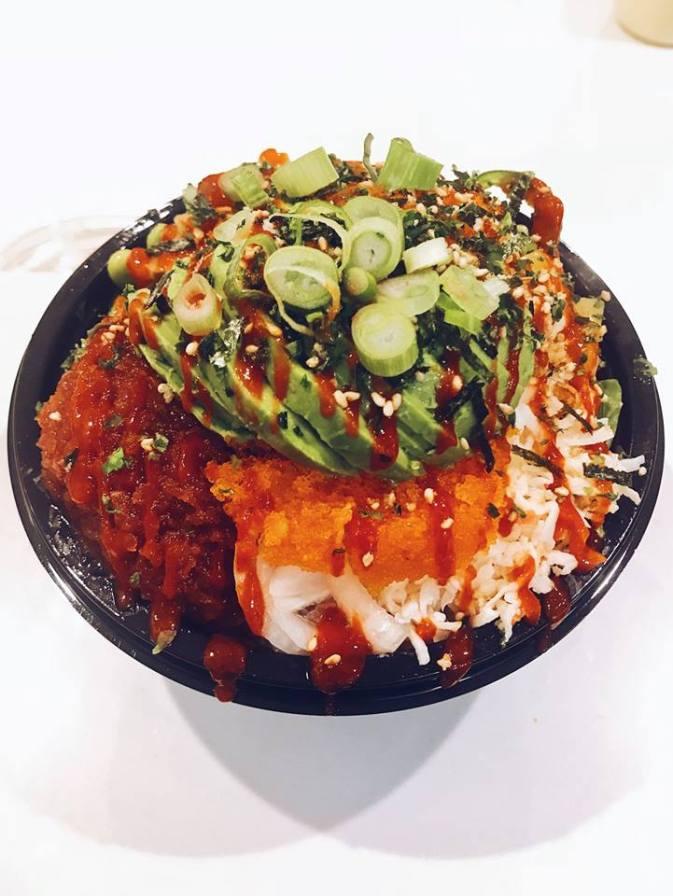 Birmingham, Ono Poke, Hawaiin cuisine, food, Pizitz Food Hall, Homewood