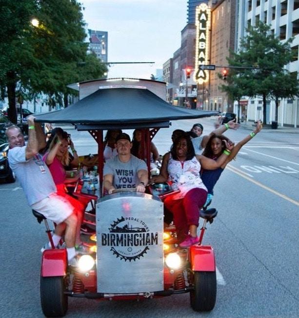 Birmingham, Alabama, Birmingham Pedal Tours