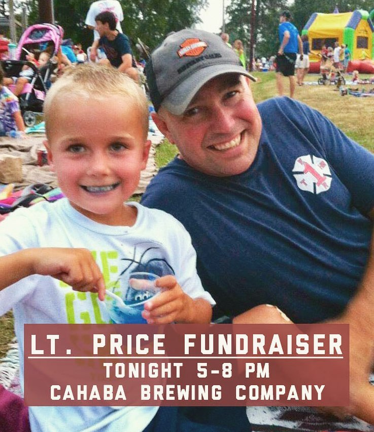 Birmingham, Alabama, Cahaba Brewing Company, firefighter, Greg Price